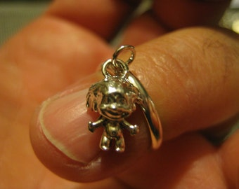 Troll Ring Dangling ,  Sterling All size's Available .
