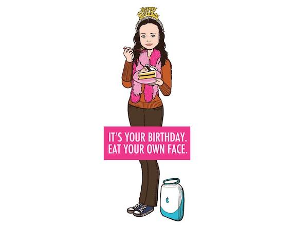 Rory's Birthdays Card - Blank Card - 1pc