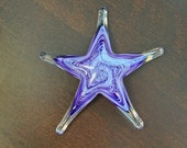 Purple Sea Star Sculpture...