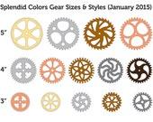 Blaine's Custom RE-Order of 30 mixed cardboard gears