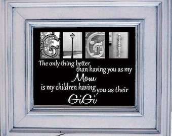 Grandmother, Grandma, Nana, MeMe  8x10 plaque  What ever you are called..... the only thing better than having you as a mom is my children