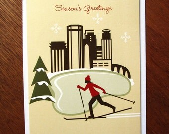 Minneapolis Skier card