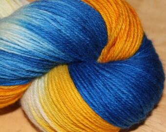 25% off Sock Yarn Cashmere blend - Decadence - Catalina Sunrise