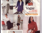 Vogue 2106 Career Wardrobe - Dress, Blazer, Blouse, Skirt, Pants - Vintage -1990s
