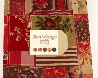 SALE Bon Voyage from French General  for Moda Layer Cake In stock and ready to ship