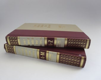 Funk and Wagnalls Standard Desk Dictionary Two Volume Set - Hardcover 1979 desk dictionary