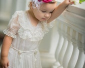 rose and lace head band