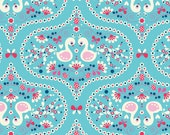 Riley Blake Fabric Flutterberry Plume in Blue