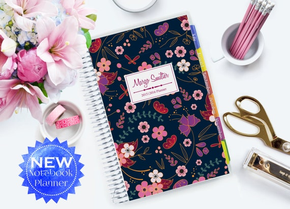 NOTEBOOK Planner 2016-2017 Customized & Personal