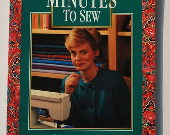 10 20 30 Minutes to Sew by Nancy Zieman Sewing with Nancy Learn to sew Quiltsy Destash Party