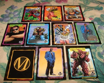 DC Milestone Comics Trading Cards 1993 Sky Box Lot of 10