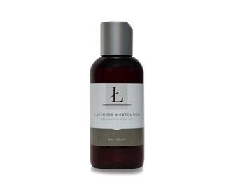 Body Oil    Lavender + Patchouli    Restorative Body Oil For All Skin Types