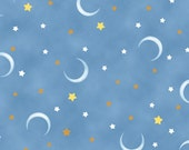 POPCORN The Bear,  Moon and Stars,  Quilting Treasures Reserved for Sarah