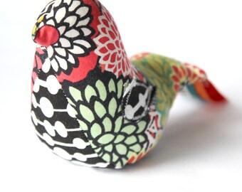 Sound Bird - Kaleidoscope Flower - A Natural Montessori Baby Toy