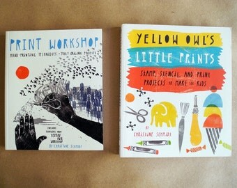 Little Print and Print Workshop Craft Books