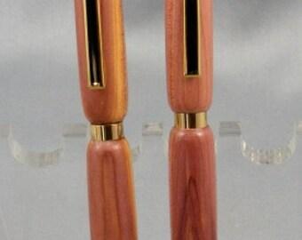 West Virginia Cedar Pen and Pencil Desk Set