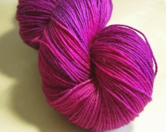 Echinacea Blue Faced Leicester Sock Weight Yarn
