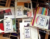 Collage and Scraps pack – letterpress, ephrema, printmaking, paper scraps
