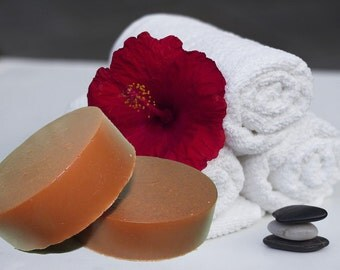Red Moroccan Clay Soap, Tee Tree Oil, Shrink Pores, Moisturizing, Remove Impurities, Exfoliate Your Skin