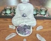 Amethyst / Meditation stone / Chakra Stone / Reiki Stone / All Healer / Wiccan / Pagan