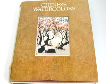 Chinese Watercolors By Joseph Hejzlar, With Photographs By B. Forman