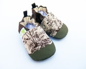 Classic Vegan Fishing Bridge Toile / Non-Slip Soft Sole Baby Shoes / Made to Order / Babies Toddler Preschool