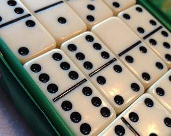 Dominoes Set of 28 Made in Taiwan