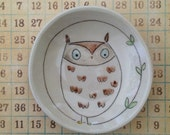 Small owl bowl