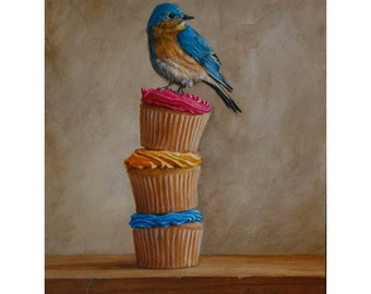 Bluebird and Cupcakes
