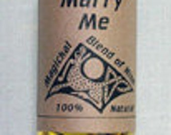 Marry Me Magical Oil - Occult Pagan Wicca Witchcraft Candleburning Magick Spells