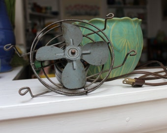 Trailer Exhaust Fan Industrial Antique Lydon-Bricher ViINTAGE by Plantdreaming