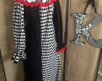 Adult  Boutique Style Clown Costume
