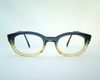 1960s Eyeglasses / Vintage Frames //  Fade out //  Paragraph eyewear / made in France#A11