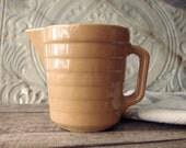 Stoneware Pitcher - Graybill's Dairy Advertising Dairy Pitcher - Batter Pitcher