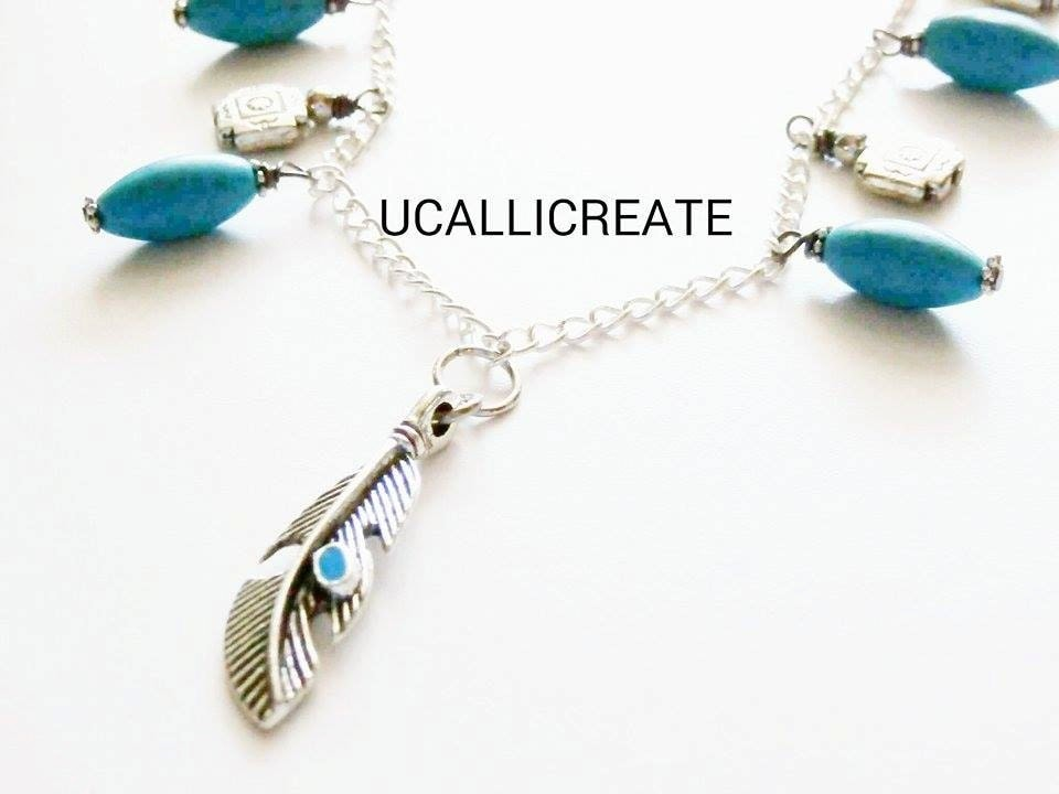 Pocahontas Necklace /Handmade By Me/Gifts For Her