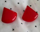 Red Hot 80s Earrings