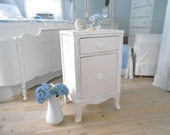 night stand end table night table shabby chic vintage painted furniture
