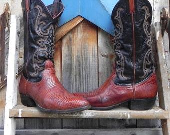vintage, Larry Mahan boots, men's size 8