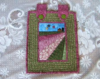 A Country Field of Flowers Wall Hanging (Item #46)