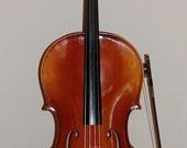 HOLD FOR HEATHER: Vintage Reghin Cello, 4/4 Cello, musical instrument, hand made cello, intermediate Cello, cello with case and bow