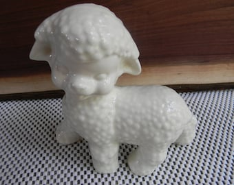 Vintage Easter Lamb Home Decor Planters & Stands Baby Room decor nursery planter lamb farmhouse chic Gift ideas Kids Baby