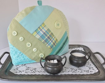 ON SALE!!  Crazy Quilted Tea Cozy   Was 30.00