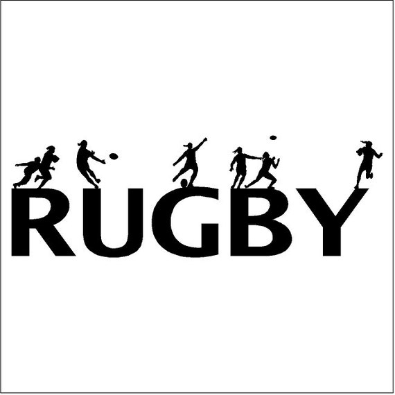 rugby wall decal removable rugby wall sticker by eyecandysigns wall decal sport american football rugby ball warrior