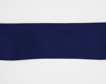 Riley Blake Sew Together Accessories - 2 inch waistband elastic in Navy