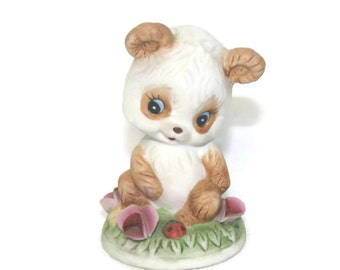 Bisque Panda Figurine