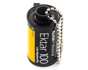 Recycled 35mm Film Keychain - Kodak Ektar 100