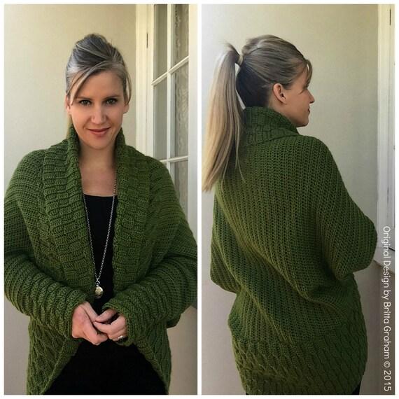 Autumn Leaves Shrug Crochet Pattern Sweater Crochet Pattern