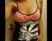Subhumans Leopard Top