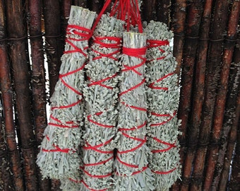 MOUNTAIN SAGE Mood Shifter - Uplifter - listing is for two (2) smudge bundles - 5-6' long