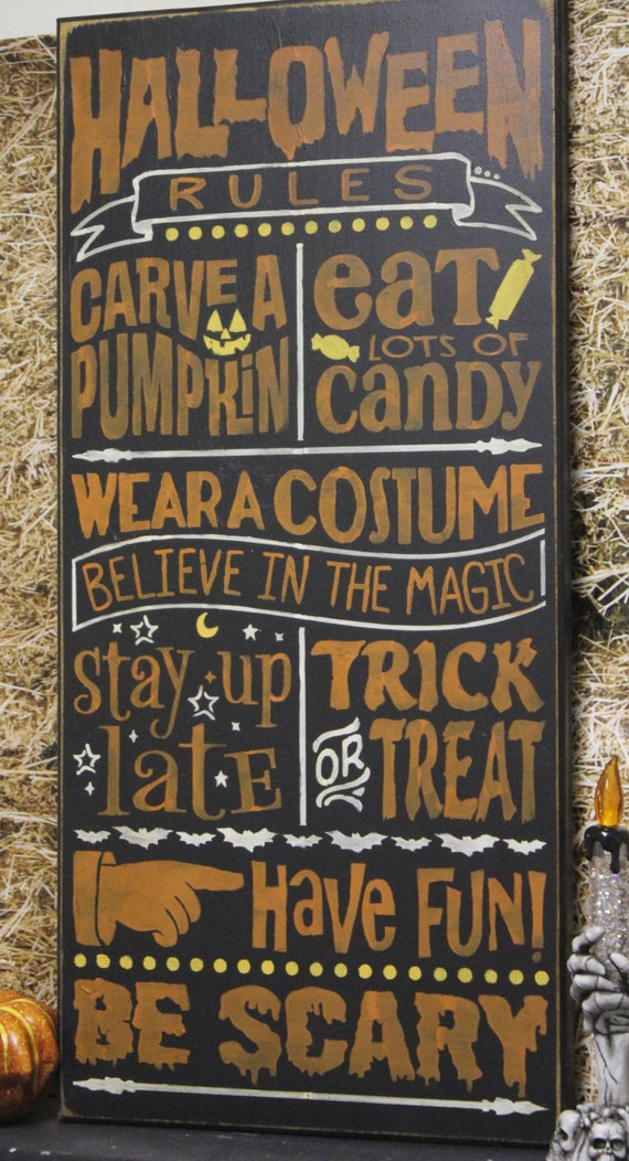 like this item - Halloween Party Rules
